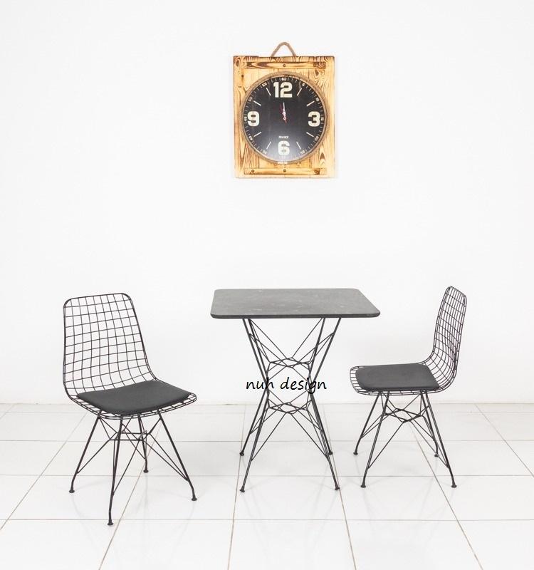 cafe restaurant masa sandalye takımı